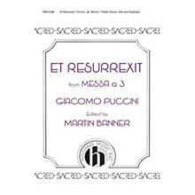 Hinshaw Music Et Resurrexit SSA composed by Giacomo Puccini