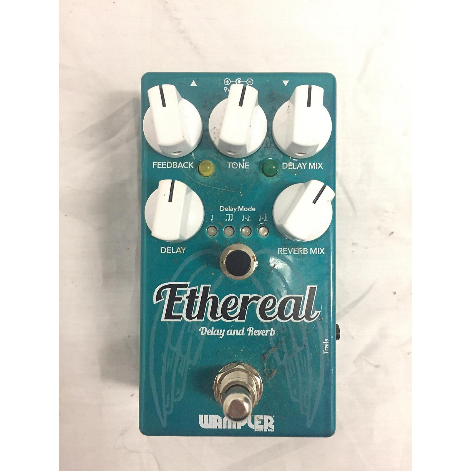 Wampler Ethereal Delay And Reverb Effect Pedal