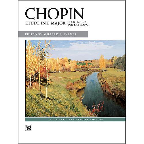 Alfred Etude in E Major Op. 10 No. 3