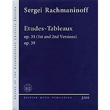 Russian Music Publishing/Boosey & Hawkes Etudes-Tableaux Op. 33 (1st and 2nd Versions), Op. 39 Misc Series Softcover by Sergei Rachmaninoff