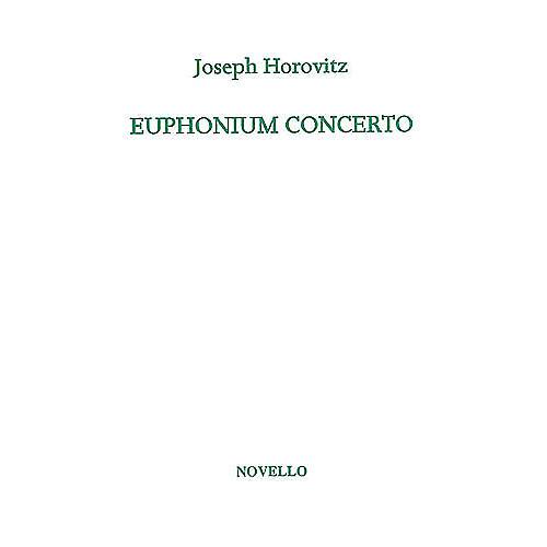 Novello Euphonium Concerto (for Euphonium and Piano) Music Sales America Series Softcover