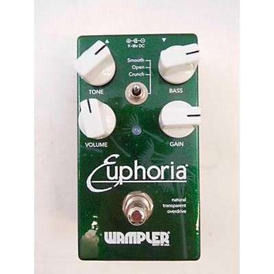Wampler Euphoria Overdrive Effect Pedal
