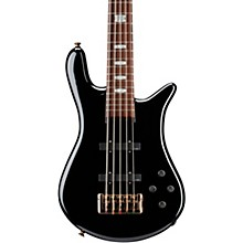 Euro 5 Classic 5-String Electric Bass Black