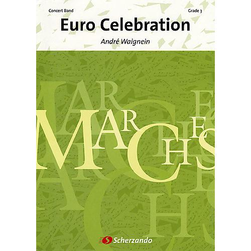 De Haske Music Euro Celebration (Score & Parts) Concert Band Level 3 Composed by André Waignein
