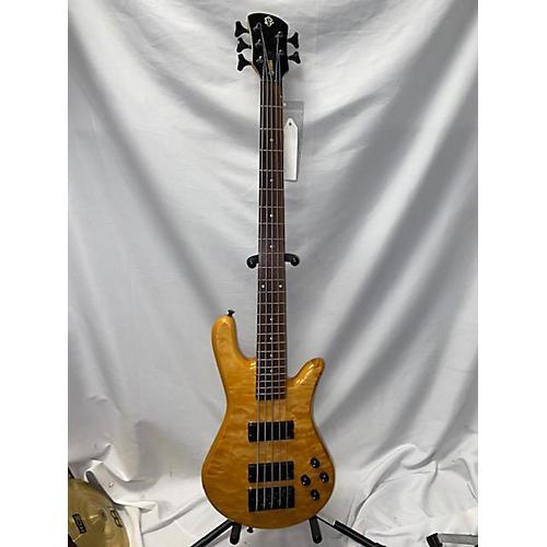 Spector EuroBolt 5 Electric Bass Guitar Natural