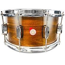 European Beech Snare Drum 14 x 6.5 in. Antique Brown Satin