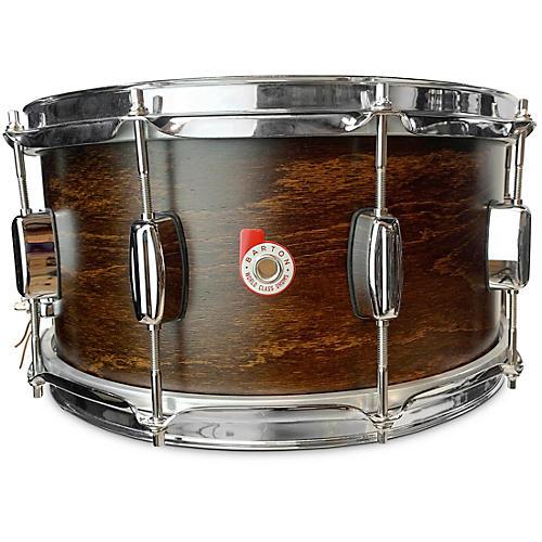 Barton Drums European Beech Snare Drum 14 x 6.5 in. Dark Brown Satin