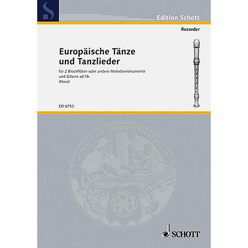 Schott European Dances and Dance Songs (Performance Score) Schott Series