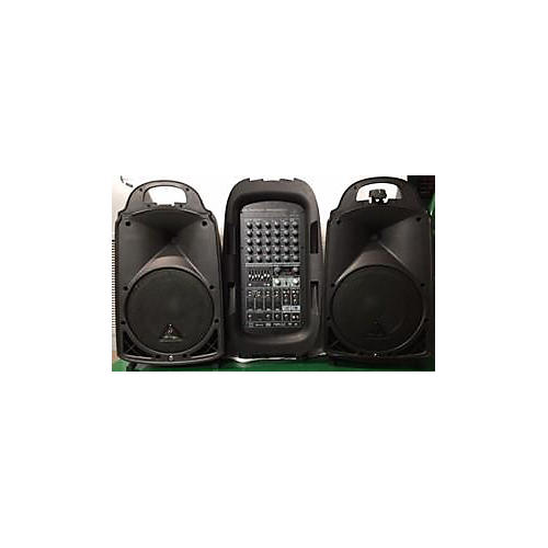 Behringer Europort PPA2000BT Sound Package