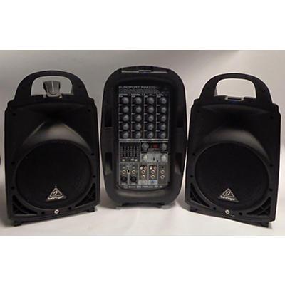 Behringer Europort PPA500BT Powered Speaker
