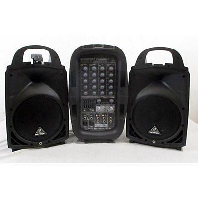 Behringer Europort PPA500BT Unpowered Speaker