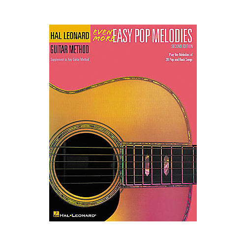 Hal Leonard Even More Easy Pop Melodies - 2nd Edition Book