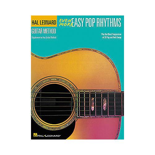 Hal Leonard Even More Easy Pop Rhythms - 2nd Edition Book