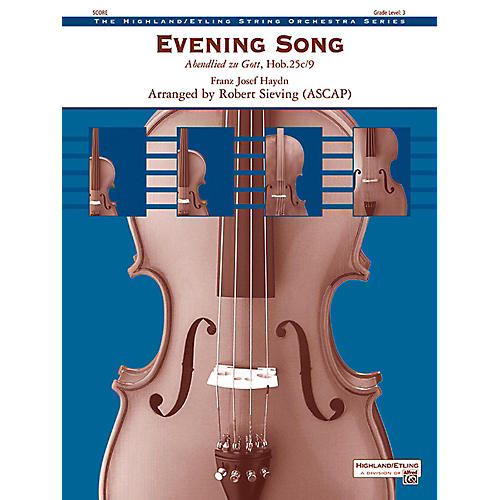 Alfred Evening Song String Orchestra Grade 3