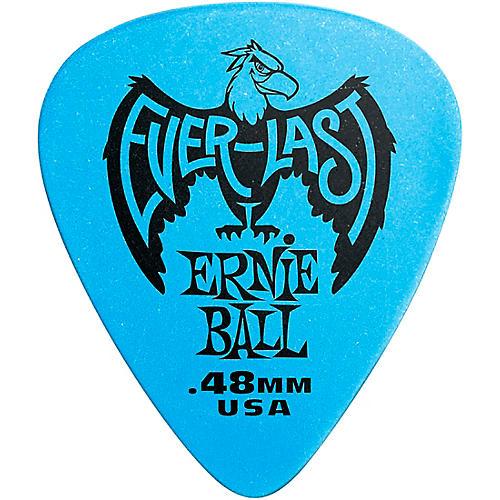 Ernie Ball Everlast Delrin Picks 12 Pack .48 mm 12 Pack