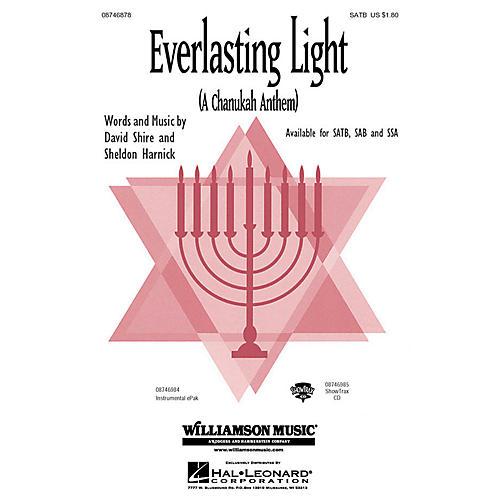 Hal Leonard Everlasting Light (A Chanukah Anthem) IPAKO Composed by Sheldon Harnick