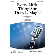 Shawnee Press Every Little Thing She Does Is Magic TTB by Sting arranged by Greg Gilpin