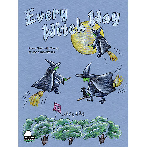 SCHAUM Every Witch Way Educational Piano Series Softcover