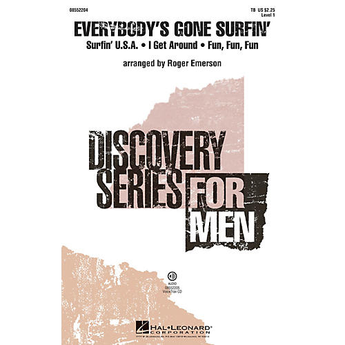 Hal Leonard Everybody's Gone Surfin' VoiceTrax CD Arranged by Roger Emerson