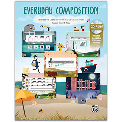 Alfred Everyday Composition Book & Interactive Software Grades 2--5