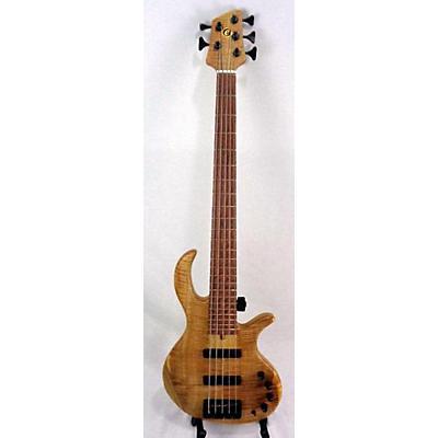 Elrick Evolution 5 Gold Series Electric Bass Guitar