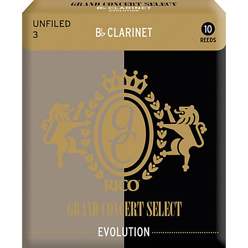 Grand Concert Select Evolution Clarinet Reeds Strength 3