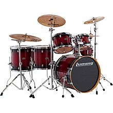 Evolution Maple 6-Piece Shell Pack Red Burst