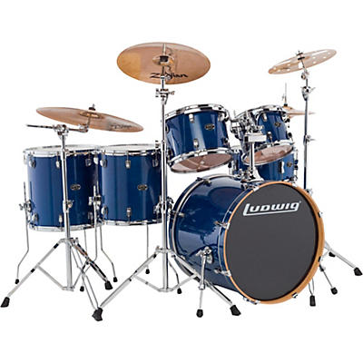Ludwig Evolution Maple 6-Piece Shell Pack