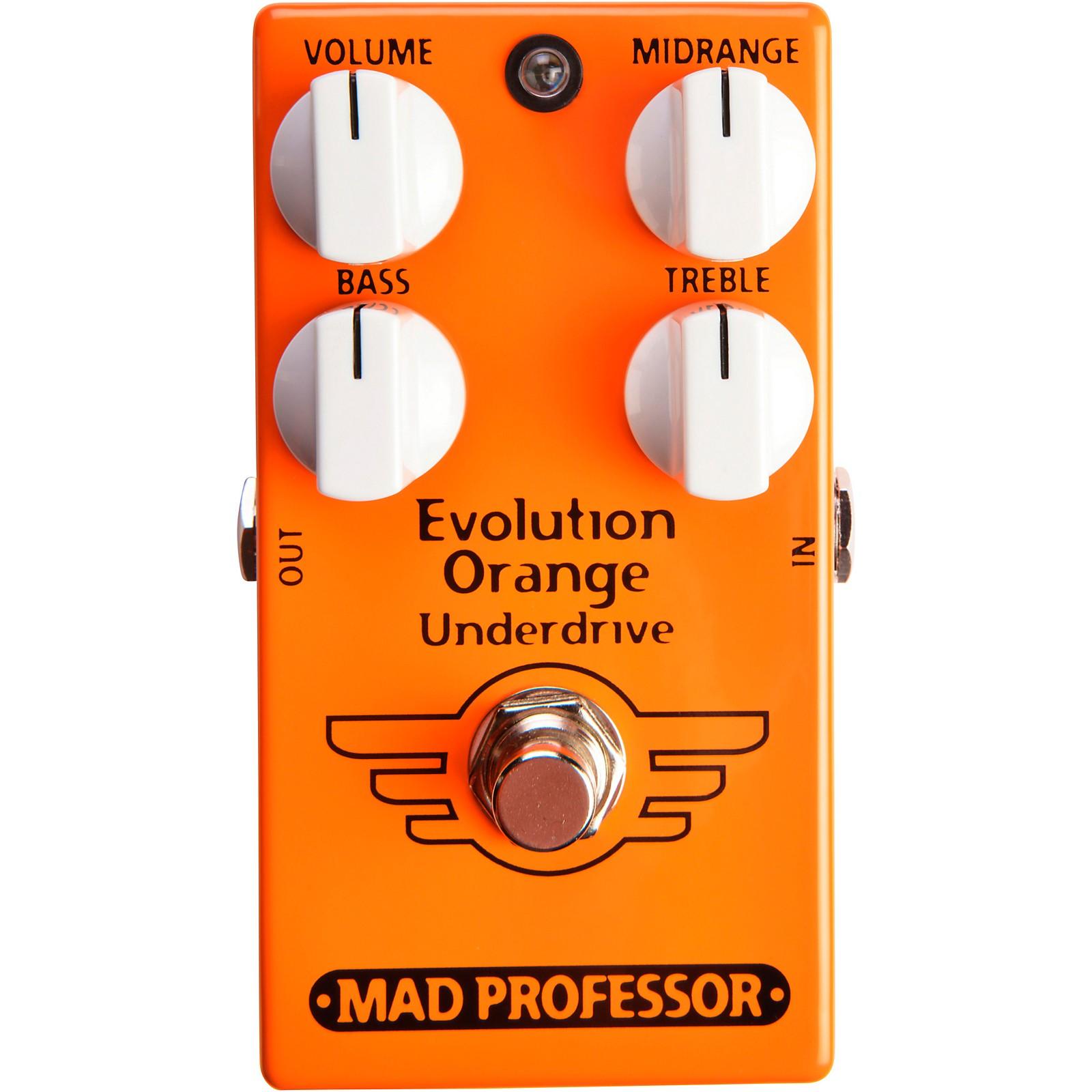 Mad Professor Evolution Orange Underdrive Effects Pedal