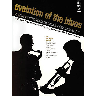 Music Minus One Evolution of the Blues Music Minus One Series Softcover with CD