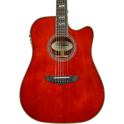 D'Angelico Excel Bowery Dreadnought Acoustic-Electric Guitar