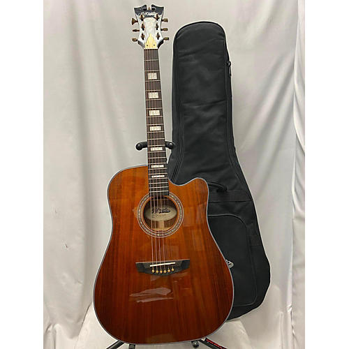 Excel Bowery KoA DAED5000KNAPAP Acoustic Electric Guitar