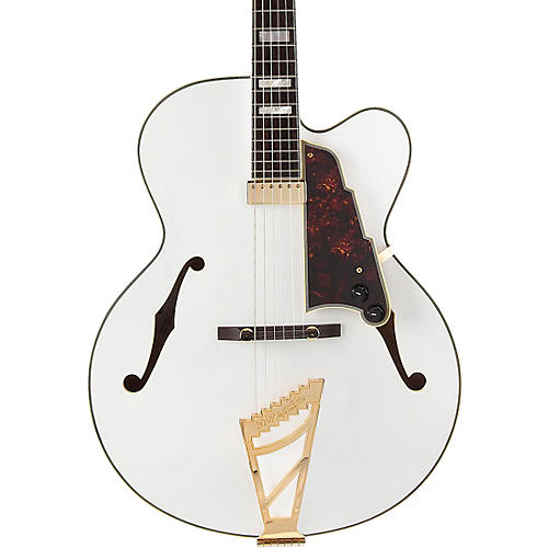 D'Angelico Excel EXL-1 Hollowbody Electric Guitar Condition 1 - Mint Classic White Tortoise Pickguard
