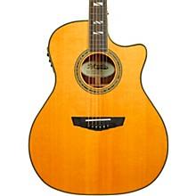 Excel Gramercy Grand Auditorium Acoustic-Electric Guitar Vintage Natural