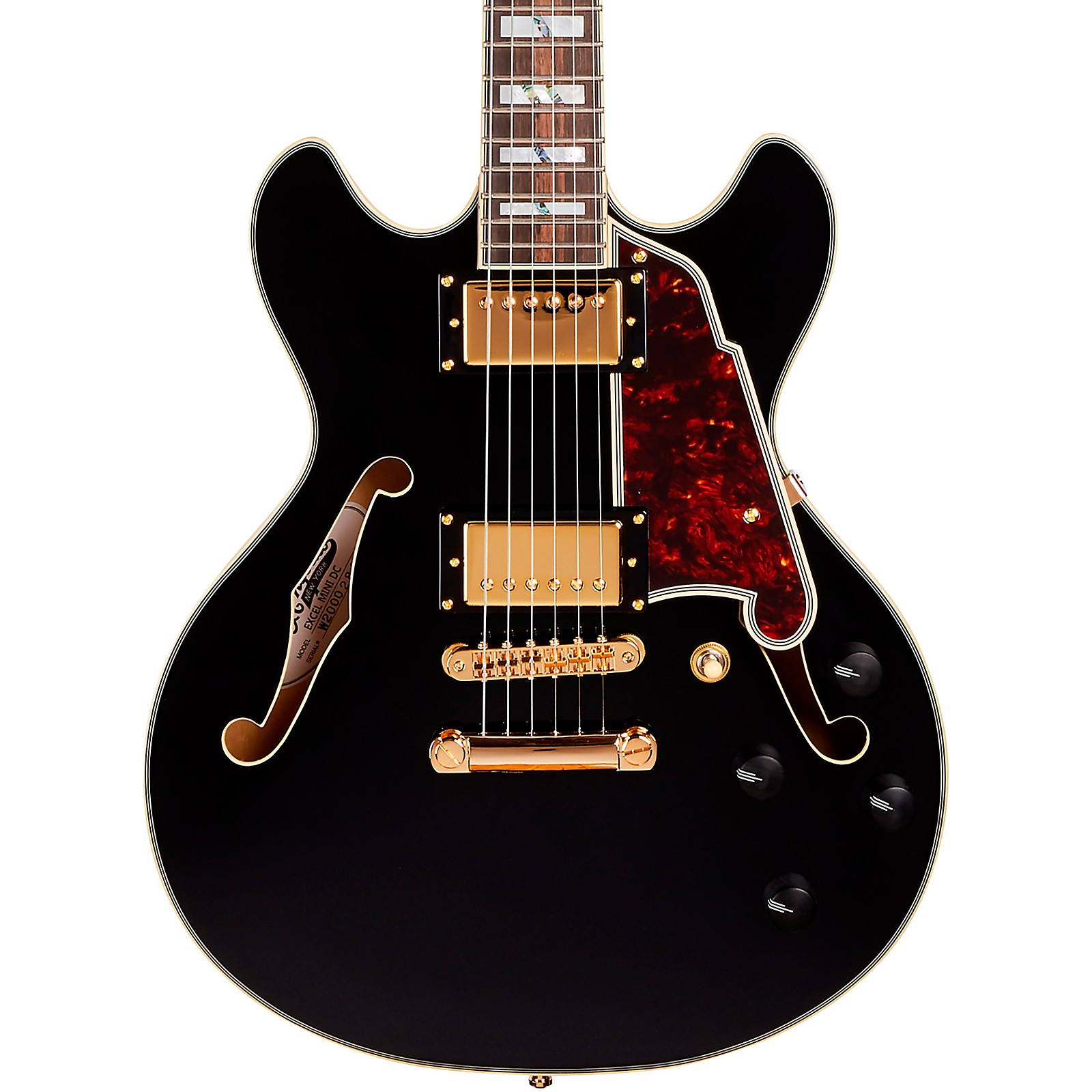 D'Angelico Excel Mini DC Semi-Hollow Electric Guitar
