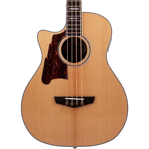 D'Angelico Excel Mott Left Handed Acoustic Bass Guitar