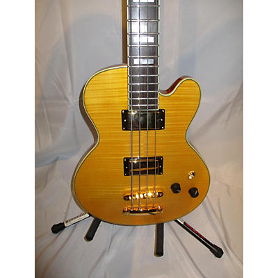 D'Angelico Excel SD Flame Top Electric Bass Guitar
