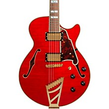 Excel Series DC Semi-Hollow Electric Guitar with Stairstep Tailpiece Cherry
