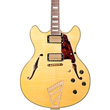 Excel Series DC Semi-Hollowbody Electric Guitar with Stairstep Tailpiece Natural