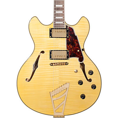 D'Angelico Excel Series DC Semi-Hollowbody Electric Guitar with Stairstep Tailpiece