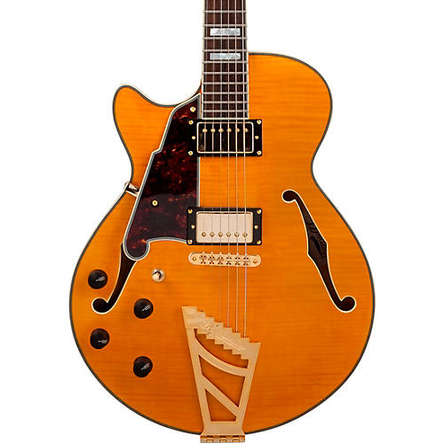D'Angelico Excel Series EX-SS Left-Handed Semi-Hollowbody Electric Guitar with Stairstep Tailpiece