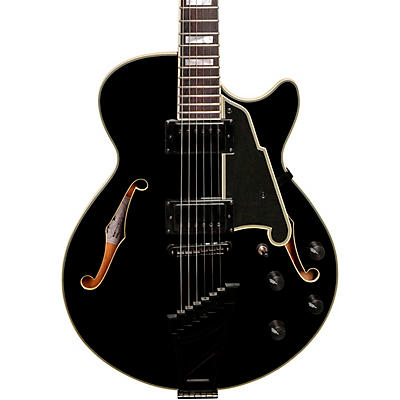 D'Angelico Excel Series EX-SS Semi-Hollowbody Electric Guitar with Black Hardware