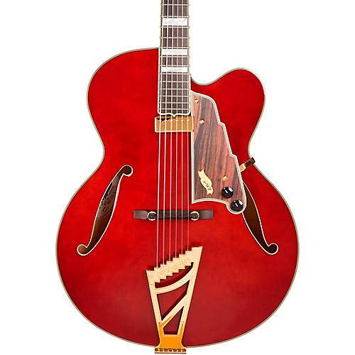 D'Angelico Excel Series EXL-1 Throwback Hollowbody Electric Guitar USA Seymour Duncan Floating Mini Humbucker Stairstep Tailpiece Viola