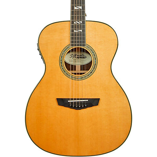 D'Angelico Excel Tammany Orchestra Acoustic-Electric Guitar Vintage Natural