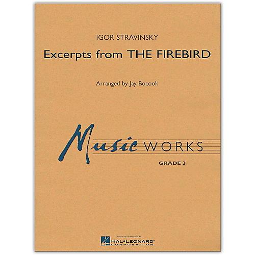 Hal Leonard Excerpts From The Firebird MusicWorks Grade 3