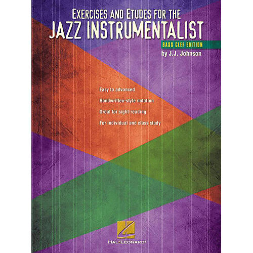 Hal Leonard Exercises And Etudes for The Jazz Instrumentalist - Bass Clef Edition