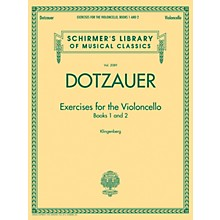 G. Schirmer Exercises for the Violoncello - Books 1 and 2 String Series Softcover