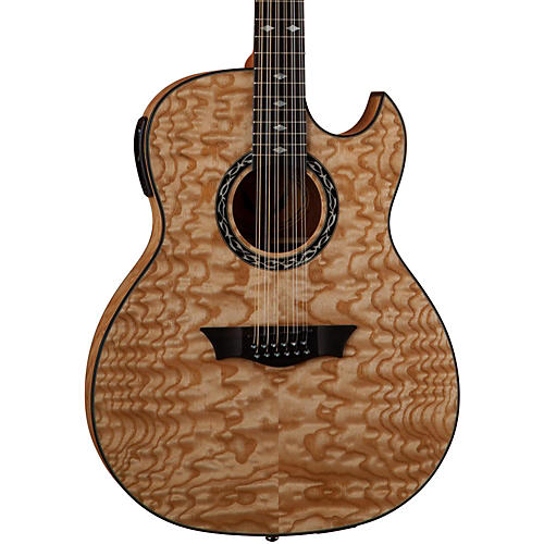 Dean Exhibition Quilt Ash 12-String Acoustic-Electric Guitar