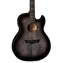 Open BoxDean Exhibition Ultra Flame Maple with USB Acoustic-Electric Guitar