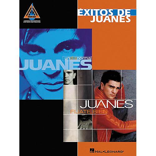 Hal Leonard Exitos De Juanes Guitar Tab Book